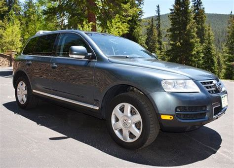 how to sell used cars 2004 volkswagen touareg parking system sell used 2004 volkswagen touareg v10 tdi suv 4 door 4 9l turbo diesel in breckenridge colorado