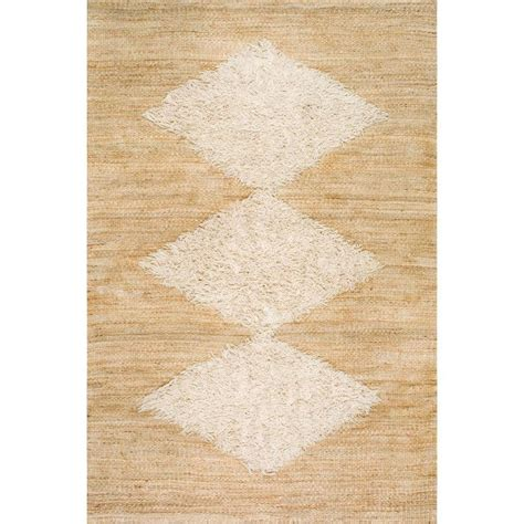 8 ft jute rug nuloom melida jute bleached 8 ft 6 in x 11 ft 6 in area rug annk01a 860116 the