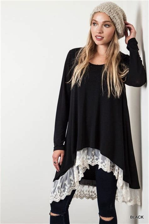 Longslevee Tunic 20 best ideas about lace trim on t