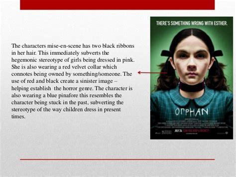 orphan film poster analysis analysis of orphan film poster