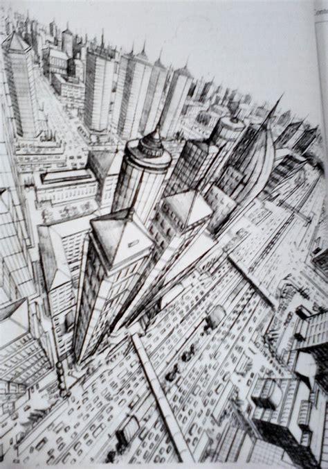 seni rupa prinsip menggambar bentuk perspektif