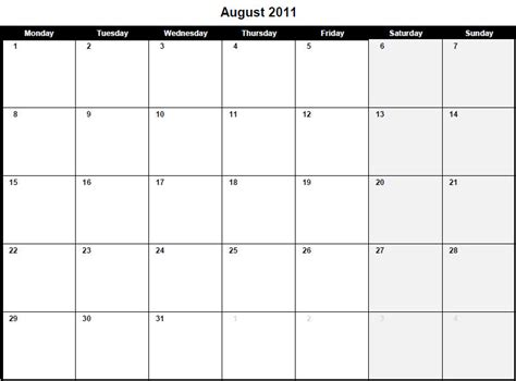 august 2013 calendar printable 9 best images of august calendar printable pdf 2013