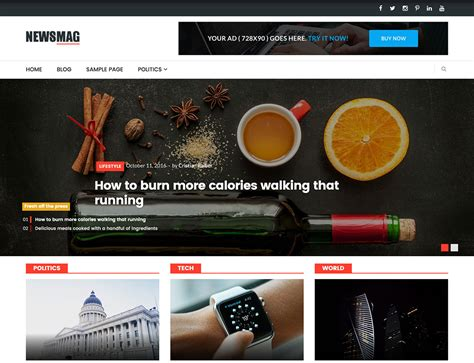 newsmag theme wordpress free 20 free simple wordpress themes 2018 themelibs