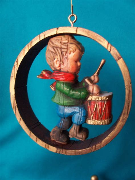 hallmark ornament rare 1976 nostalgia drummer boy value