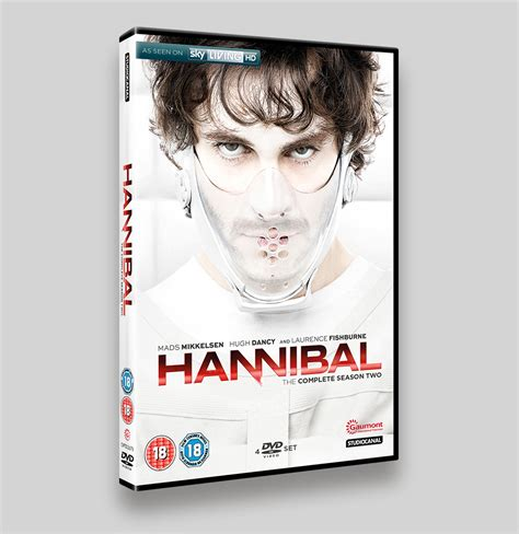 Hannibal The Complete Series Bluray hannibal season 2 and dvd packaging rogue four design