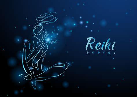 reiki energy  girl   flow  energy