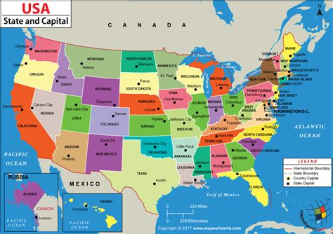 united states map with capitols us states and capitals map genealogy