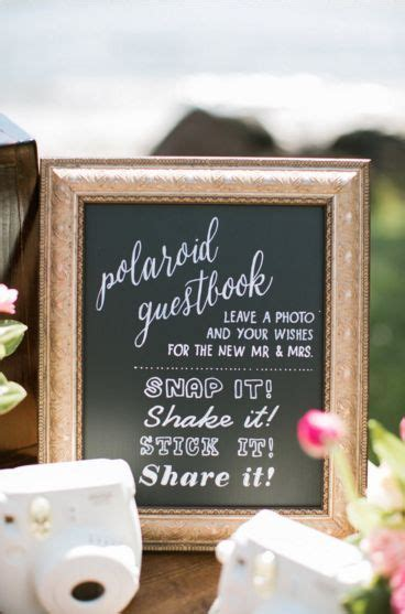 Best 25  Polaroid guest books ideas on Pinterest
