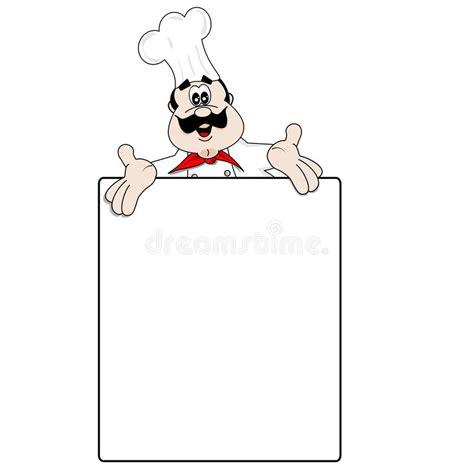 clipart cuoco cuoco unico fumetto e ricetta in bianco menu