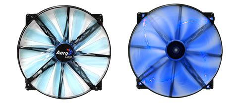 Diskon Aerocool Lightning 14cm Blue Led Fan aerocool lightning 200mm blue led fan aer lfan20 bl pc gear