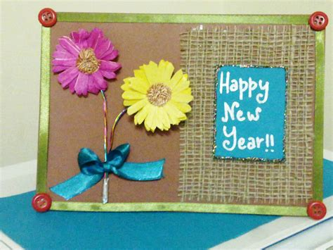 Handmade Cards For New Year - image gallery new year handmade cards