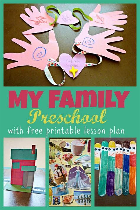 themes that related to family 23 best family preschool theme images on pinterest