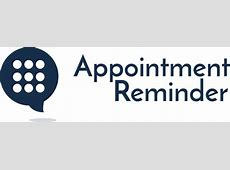 Appointment Reminder | Phone, Text Message / SMS, and ... Free Clip Art For Massage Therapy