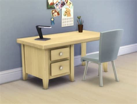 sims 4 cc desk shelf boring desk by plasticbox at mod the sims 187 sims 4 updates