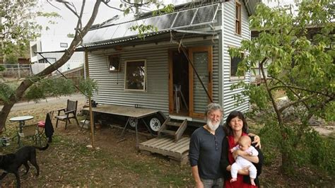 Living In A Shed Legally by Templestowe Family Builds Tiny House To Live The Grid