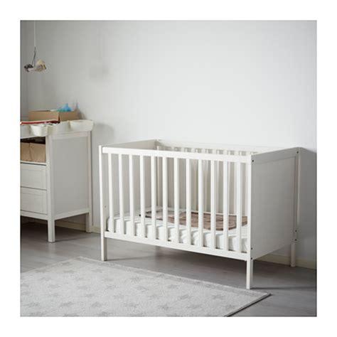 ikea baby bett sundvik cot white 60x120 cm ikea