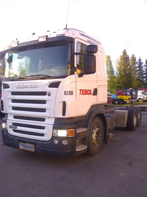 used scania r480 6x2 cab chassis year 2009 for sale