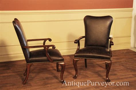 Leather Upholstered Dining Room Chairs Leather Upholstered Dining Room Arm Chairs With