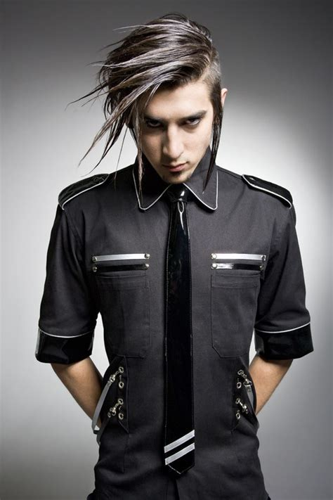 feminine clothing for men a good look at 18 seductive styles goth fashion for men corporate goth men s
