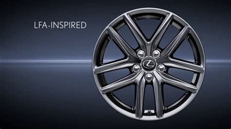 Wheels F lexus is f sport wheels