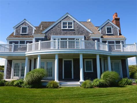nantucket home plans nantucket gray exterior and dark blue nantucket home