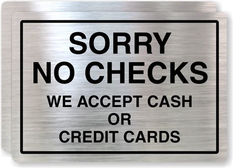 That Dont Background Check Credit Card Signs Credit And Debit Cards Accepted