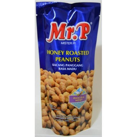 Mr P Honey Roasted Cashewnuts 80g mr p honey roasted peanuts 80g