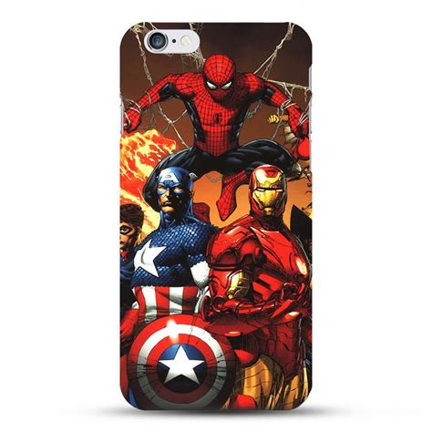 avengers theme for iphone 6 marvel avengers superheroes cases for iphone 5 5se 6 6s 6