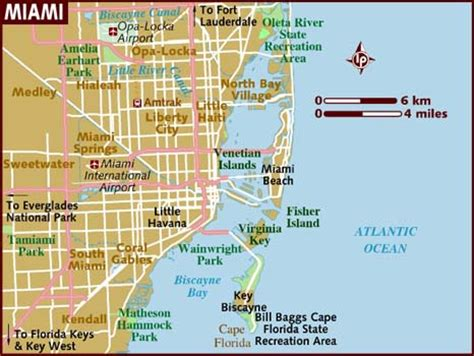 miami map map of miami