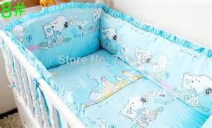 Crib Bedding Sets 100 Dollars Baby Bad Set With Flower 5pcs Set 100 Cotton Baby