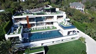 Modern Houses Floor Plan 924 bel air rd tops the us charts as an over the top