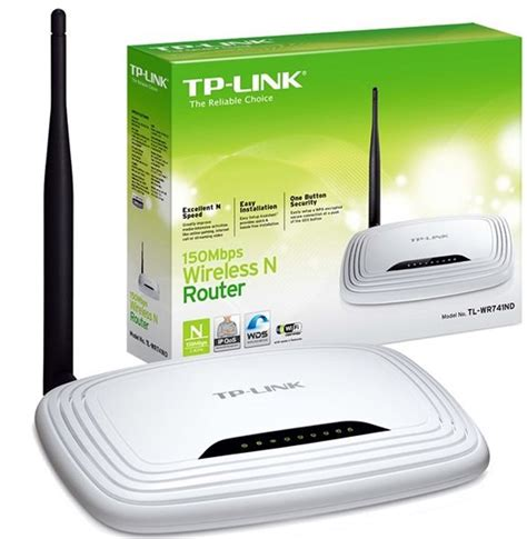 Router Tp Link Terbaik Tp Link Wireless N Router 150mbps Tl Wr740n White