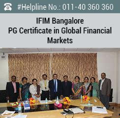 Part Time Mba In Bangalore Bengaluru Karnataka 560001 by Ifim Bangalore Launches Pg Certificate In Global Financial