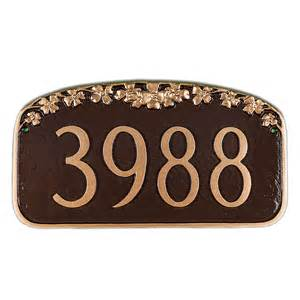 dog wood house personalized dogwood house number sign