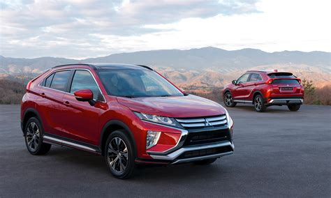 mitsubishi crossover mitsubishi pads crossover lineup with eclipse cross