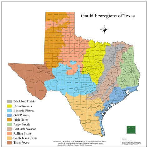 map of the counties of texas tpwd gis lab map downloads