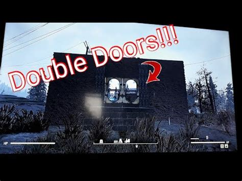 fallout    build double doors youtube