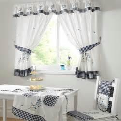 Kitchen Curtains Designs by Premium Quality Bluebell Kitchen Curtains Curtains From