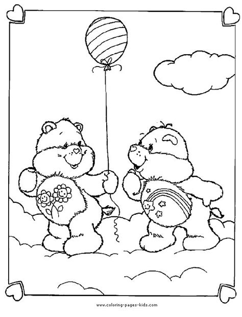 wish bear coloring pages 1000 images about care bears coloring pages on pinterest