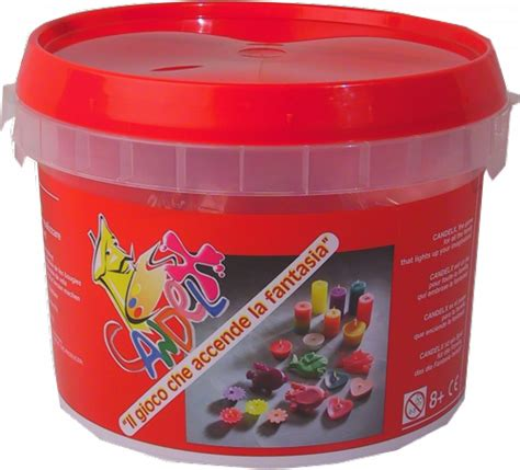 kit per candele fai da te mini set creativo per realizzare candele galleggianti set