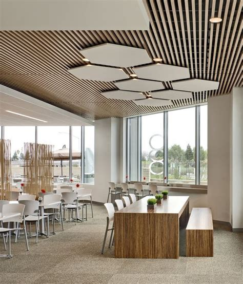 designer ceiling modern business cafeteria google search bathrooms