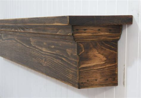 Rustic Country Wall Shelf by Rustic Wall Shelf Country Shelf Distressed Mantel Mantel