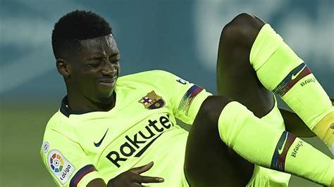 ousmane dembélé goals for barcelona fc barcelone ultimatum pour ousmane demb 233 l 233 goal