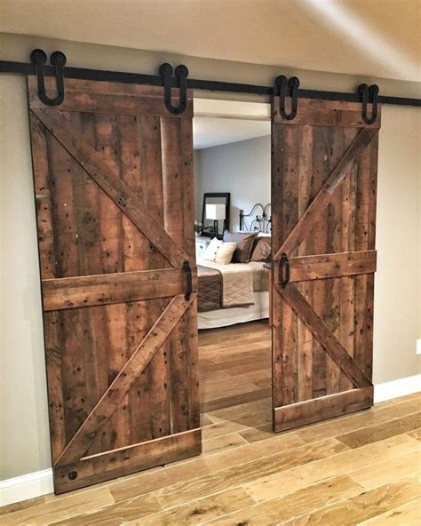 Reclaimed Wood Sliding Barn Doors Sliding Doors Grain Designs