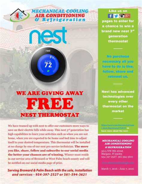 Nest Thermostat Giveaway - free nest giveaway enter to win today a nest thermostat