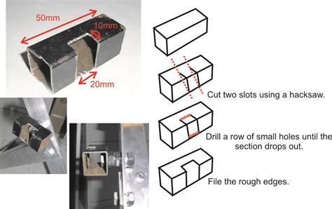 welding box section steel diy no welding pedal powered generator plans renewable