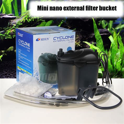 Filter Nano Nanotec 20 external filter mini nano resun cy20 water plant