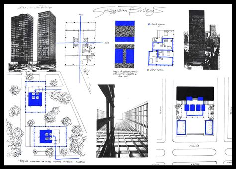 Case Study House Plans seagram buildings by towermax on deviantart