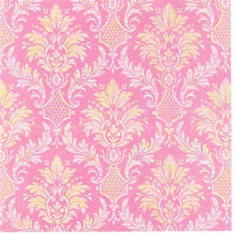 pink wallpaper designers attic pink and yellow wallpaper wallpapersafari