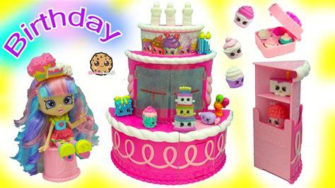 Shopkins Season 7 12packs O birthday cake season 7 shopkins playset